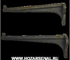 Кронштейн чугунный для умывальника (240 мм)