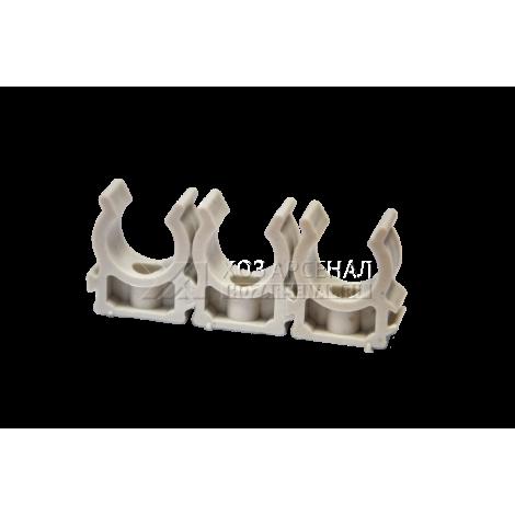 Клипсы для металлопластиковых и полипропиленовых труб  (ф32)