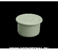 Заглушка канализационная полипропиленовая d- 50мм