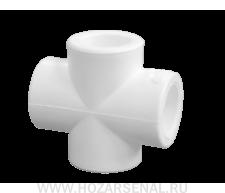Крестовина полипропиленовая ф25