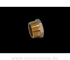 Заглушка латунная никелированная (d-15 н)