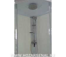 Душевой набор Стандарт (смеситель тропический душ без излива)