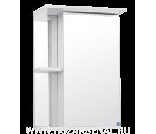 Зеркало-шкаф Николь 500 правый белый