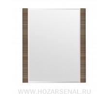 Зеркало Лотос 760  штрокс коричневый