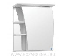 Зеркало-шкаф Фрегат 600 белый