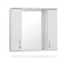 Зеркало-шкаф Панда 800 белый
