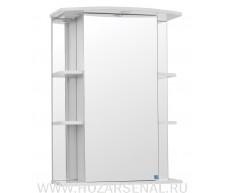 Зеркало-шкаф Кристалл 650 белый
