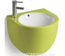 Керамическая раковина для ванной MLN-500FGW