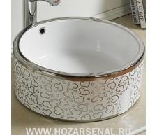 Керамическая раковина для ванной MLN-7076SP-1