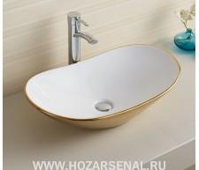 Керамическая раковина для ванной MLN-7811АJW
