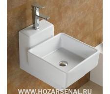 Керамическая раковина для ванной (чаша для омовения ног) MLN-7899